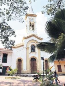 Foto de la plaza tomada por Luis Lizarazo (Casa Editorial El Tiempo)