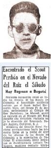 Recorte de prensa de 1959