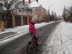 Preparadas para el  frío polaco una tarde de viernes