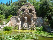 Fuente de Neptuno, en el jardín Trsteno