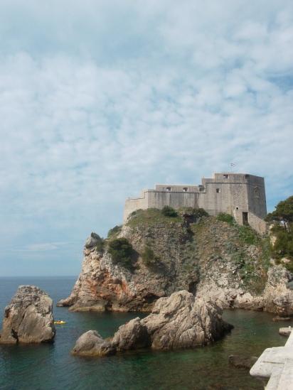 El fuerte Lovrinejac