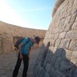 La entrada a la casa de los eternos, en la torre Minceta