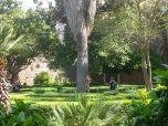 Los jardines de la isla Lokrum posaron de Qarth
