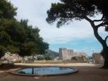 El parque Gradac en un día normal