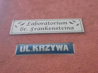 La calle que conduce al laboratorio de Frankenstein