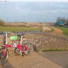 La 'bici' en el canal Lee