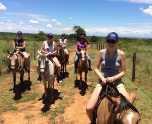 'Ula' aprendió a montar caballo allí. Crédito: http://www.kolumbia.travel/wywiad-z-wolontariuszkami/
