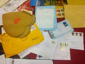 Julieta recibe diez mil cartas por año. Foto cortesía del club