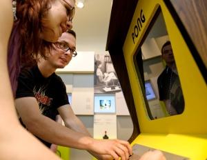 Pong de Atari. Foto de Jörg Metzner