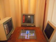 """Los computadores """"pensionados"""" jugando parqués."""