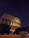 Coliseo romano en la capital de Italia