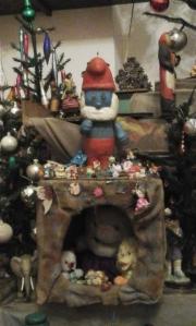 Papa Smurf or Smurf Santa?